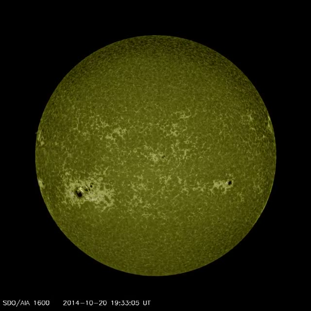 Sunspot Group AR2912