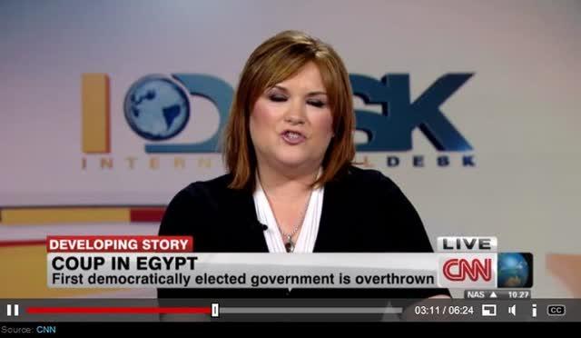 VIOLENCE ERUPTS IN EGYPT