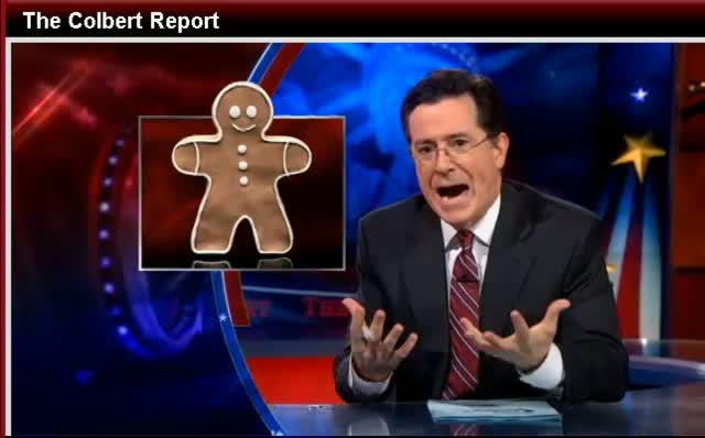 Comedy Central The Colbert Report Stephen Colbert Rick Perry's Anti-Gay Ad 12-08-11