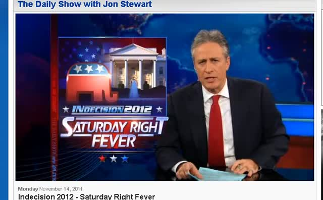 The Daily Show Jon Stewart Reviews GOP Debates 111511
