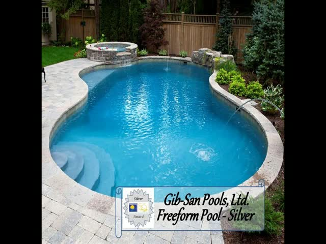 Gibsan Pools Ltd. Award Winners 2011