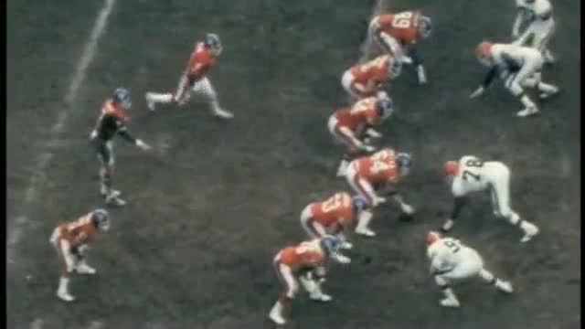 John Elway's The Drive 1986 AFC Championship
