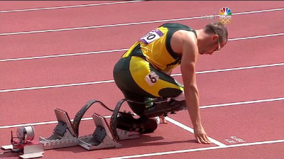 Oscar Pistorius 400m 2012 Olympics