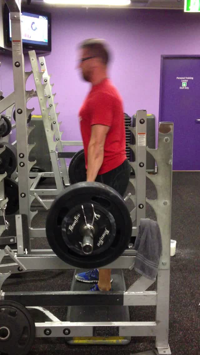 180kg rack pulls