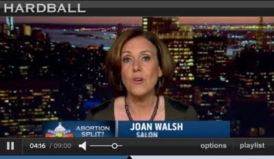 HARDBALL – McCAIN TO GOP ON ABORTION