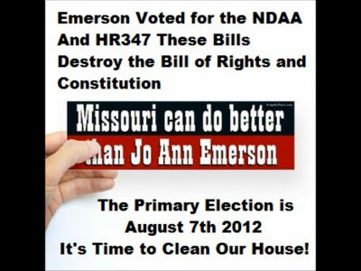 Best radio rant on the NDAA: Emerson called out for Treason