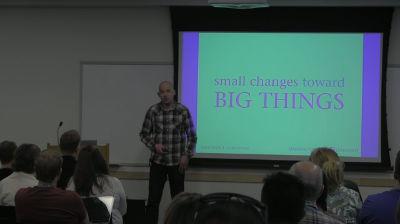 Jeremy Felt: Small Changes Toward Big Things