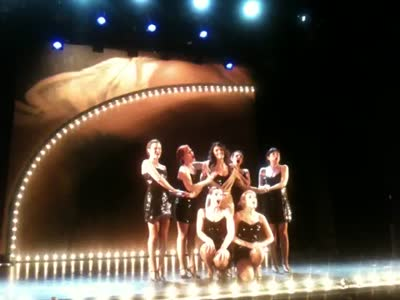 Alejandra is forced into the chorus line&#8230;