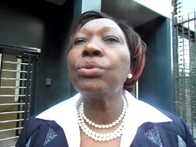 www.africanpress.me Video: interview with Minister for Public Health and Sanitation Hon. Beth Mugo –  ICC, Hague – Part 1