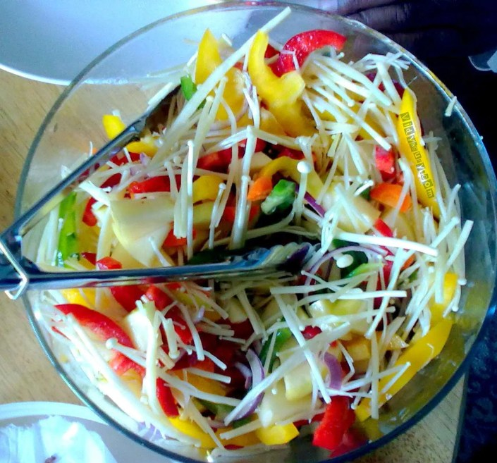 Weight Loss Tips salad