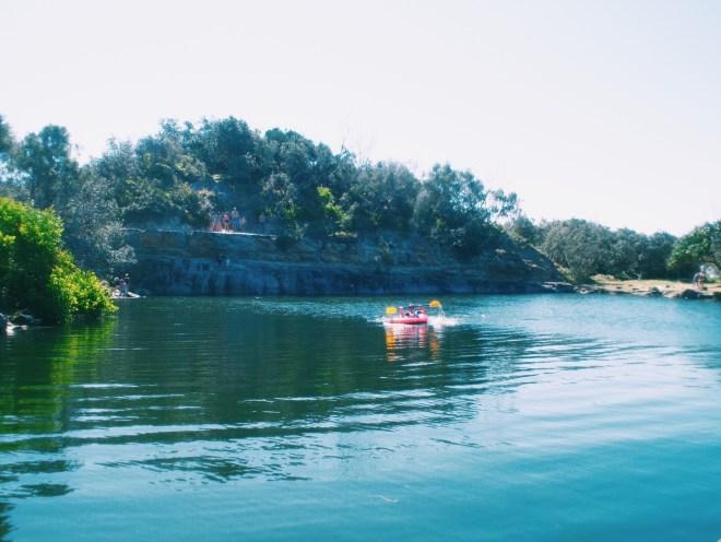 A lake in Yamba.
