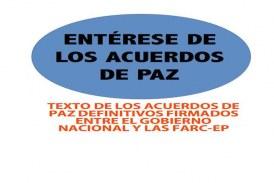 ACUERDO FINAL PARA LA TERMINACIÓN DEL CONFLICTO Y LA CONSTRUCCIÓN DE UNA PAZ ESTABLE Y DURADERA