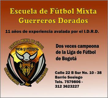 Escuela de Futbol Guerreros Dorados