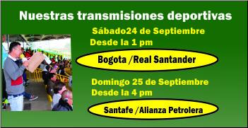 Nuestras transmisiones Septiembre