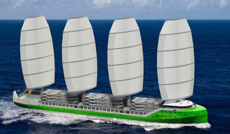 Back to the roots: Fahren Cargoschiffe in Zukunft wieder mit Segeln?