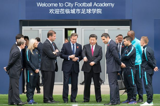 Chinese-president-Xi-Jinping-in-Manchester