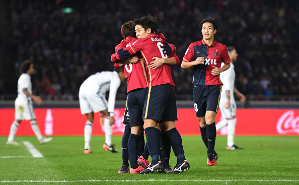 during the FIFA Club World Cup Final match between Real Madrid and Kashima Antlers at International Stadium Yokohama on December 18, 2016 in Yokohama, Japan.