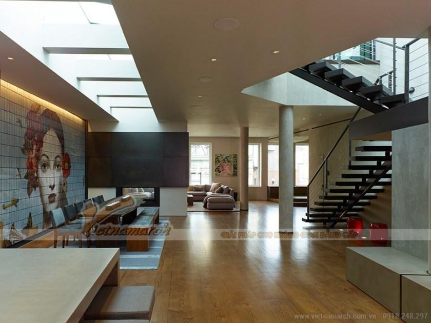Thiết kế penthouse rộng lớn xu hướng mở