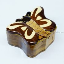 Intarsia wooden puzzle boxes 28