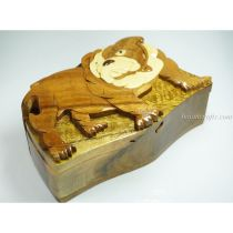 Intarsia wooden puzzle boxes 35