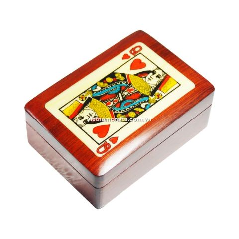 Playing Card Box Queen of Hearts (2)