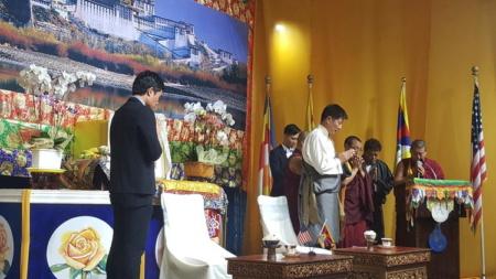 Hội Thảo Nhân Quyền Tây Tạng - Việt Nam, Xây Dựng Lòng Tin Và Cùng Nhau Hành Động, Tong Thong Tay Tang Lobsang Sangay , Luat su Trinh Hoi