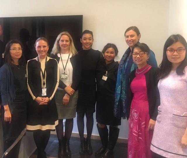 Toàn cảnh Chiến dịch Vận động Nhân quyền UPR năm 2017 - gặp gỡ với đại diện Bộ Ngoại giao Nauy tại Oslo