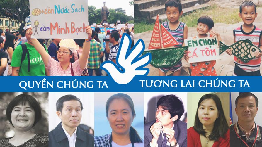 Toàn cảnh Chiến dịch Vận động Nhân quyền UPR năm 2017 - Dinh ky pho quat - Vietnam VOICE