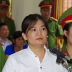 Tran Thi Nga at her trial on July 25, 2017. Source Vietnamnet- VOICE VIETNAM - tran-thi-nga-at-trial-july-2017