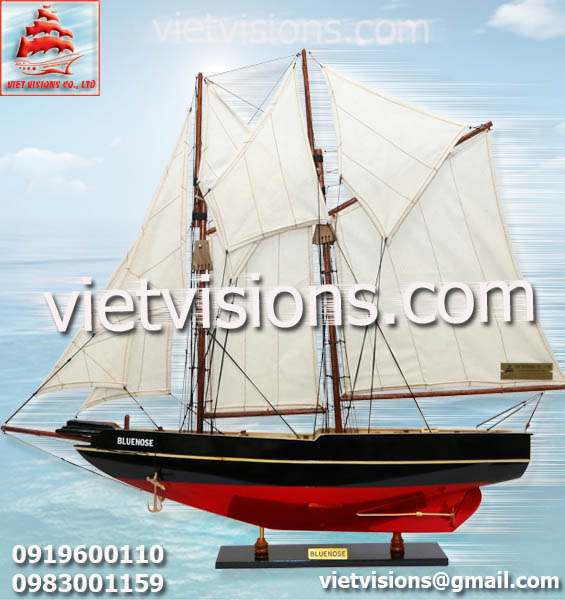 Thuyền Buồm Mô Hình BLUENOSE