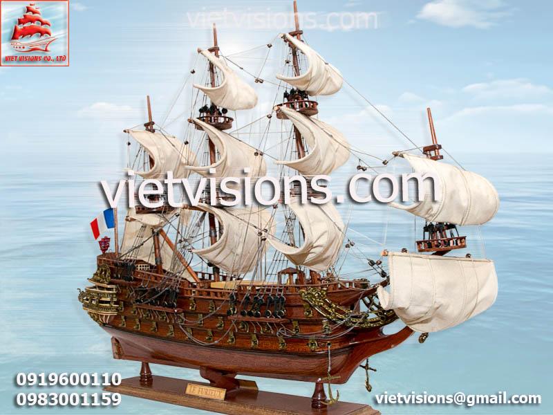 Mô Hình Tàu Chiến Le Furieux