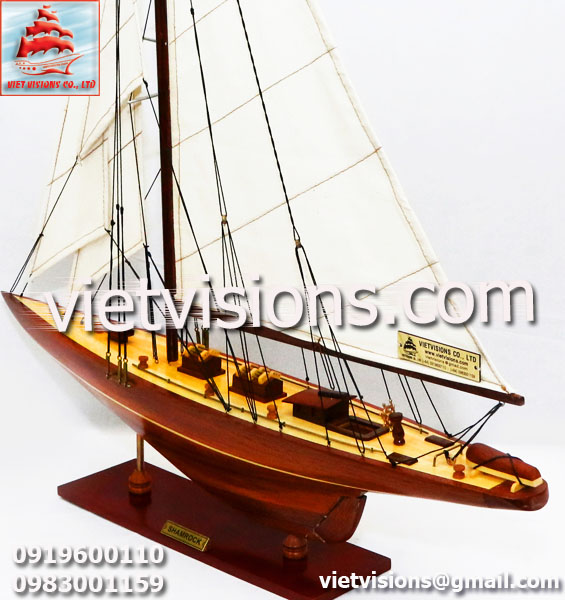 Thuyền Buồm Mô Hình SHAMROCK