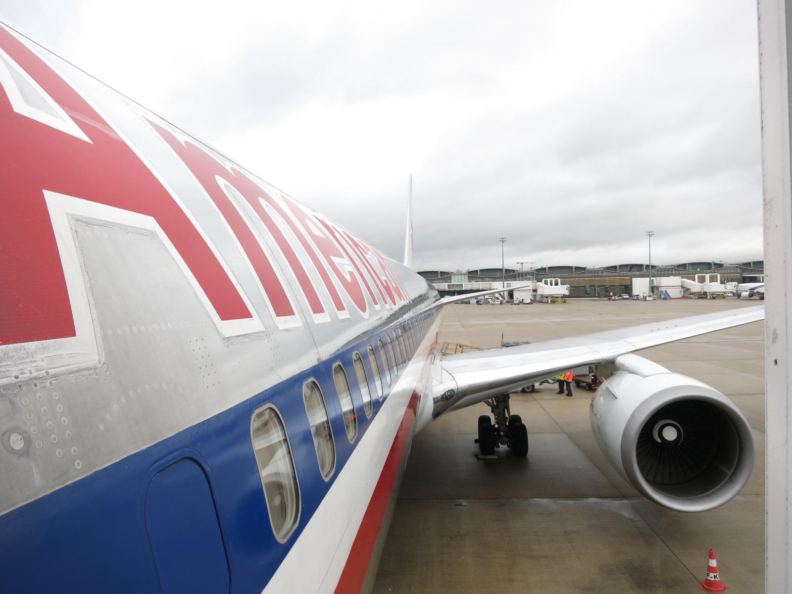 American airlines in flight movie