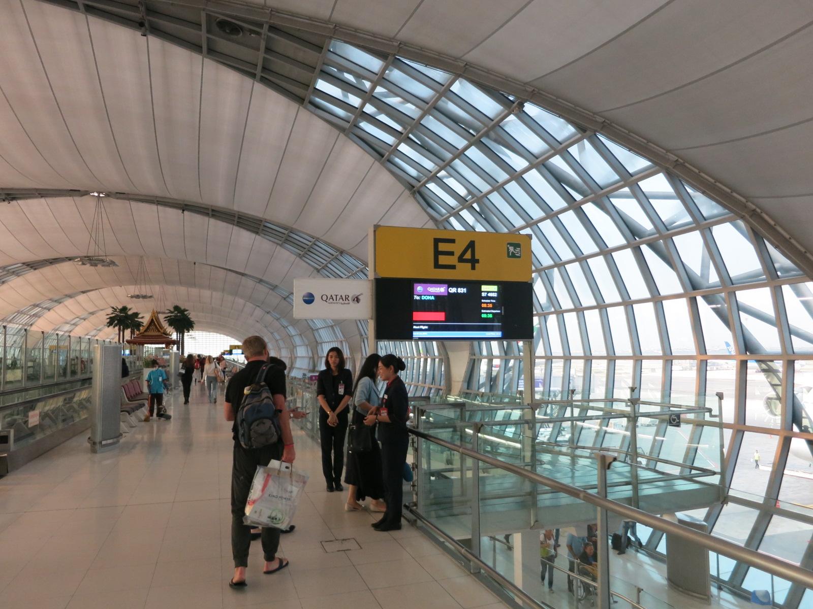 Qatar Airways A380 first class Bangkok-Doha