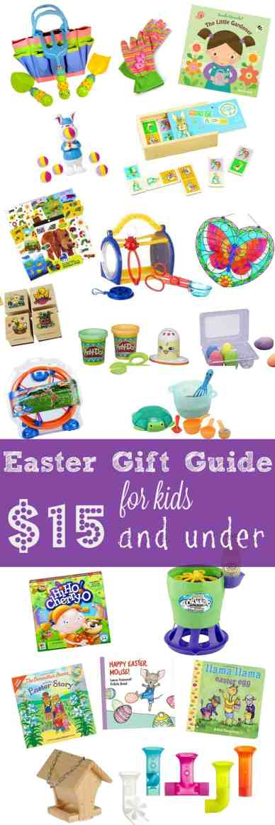 Any of the items on this Easter gift guide would make the perfect Easter basket fillers at under $15 each! Make a themed basket for a little added fun!