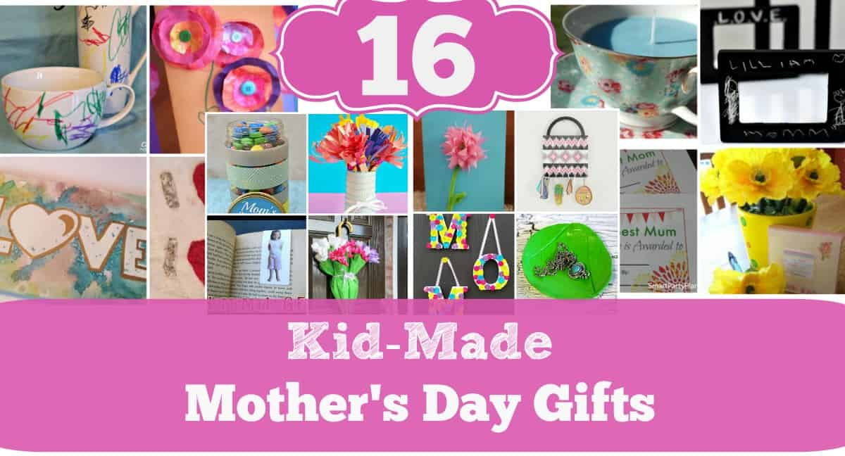 These kid made Mother's Day gifts will WOW mom, grandma, or any other special lady in your life AND kids will take pride in making any one of these!