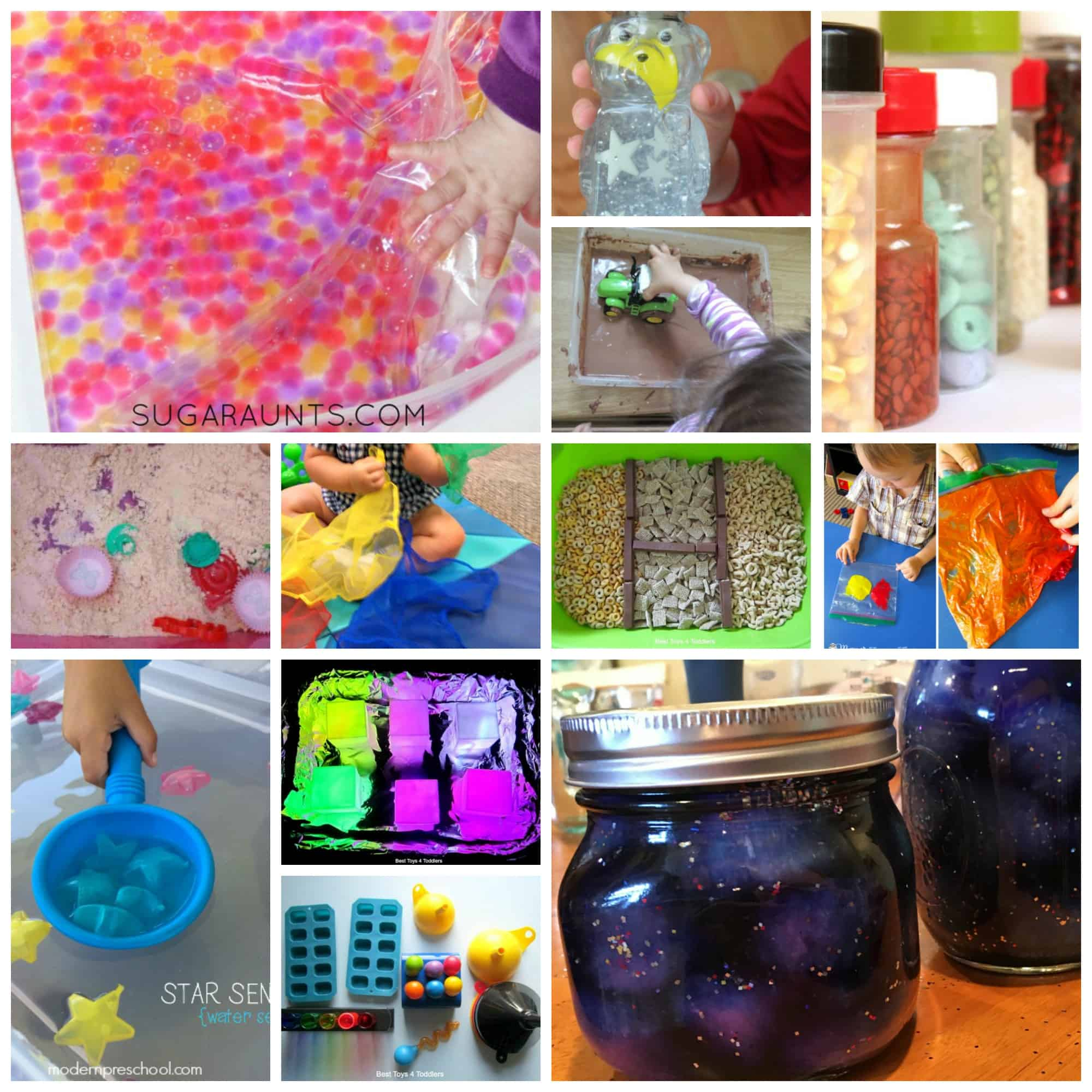 sensory activities a one year old can do too!
