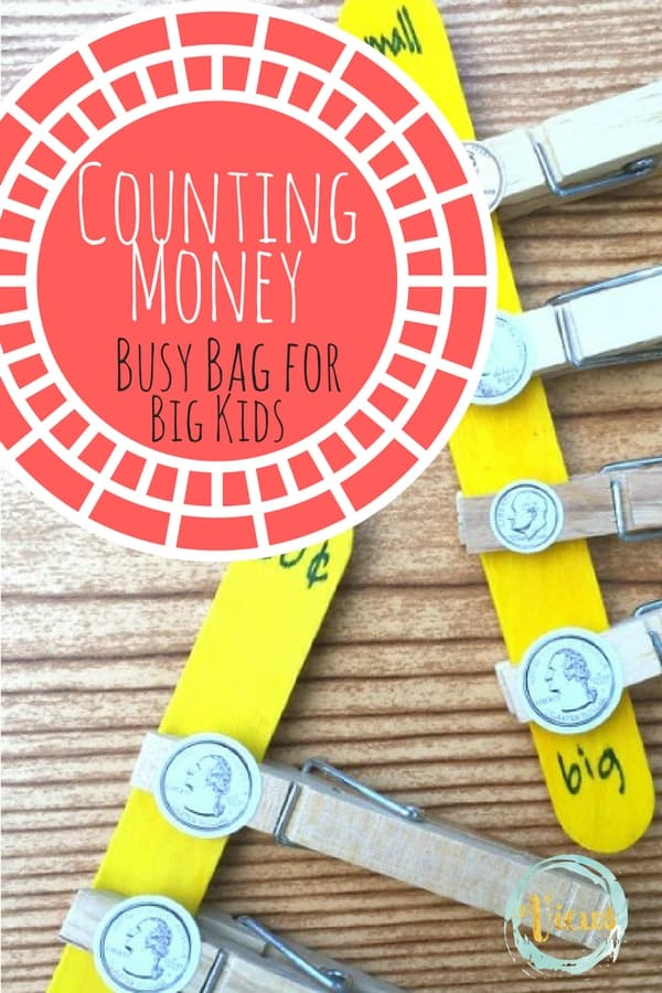 Counting Money busy bag