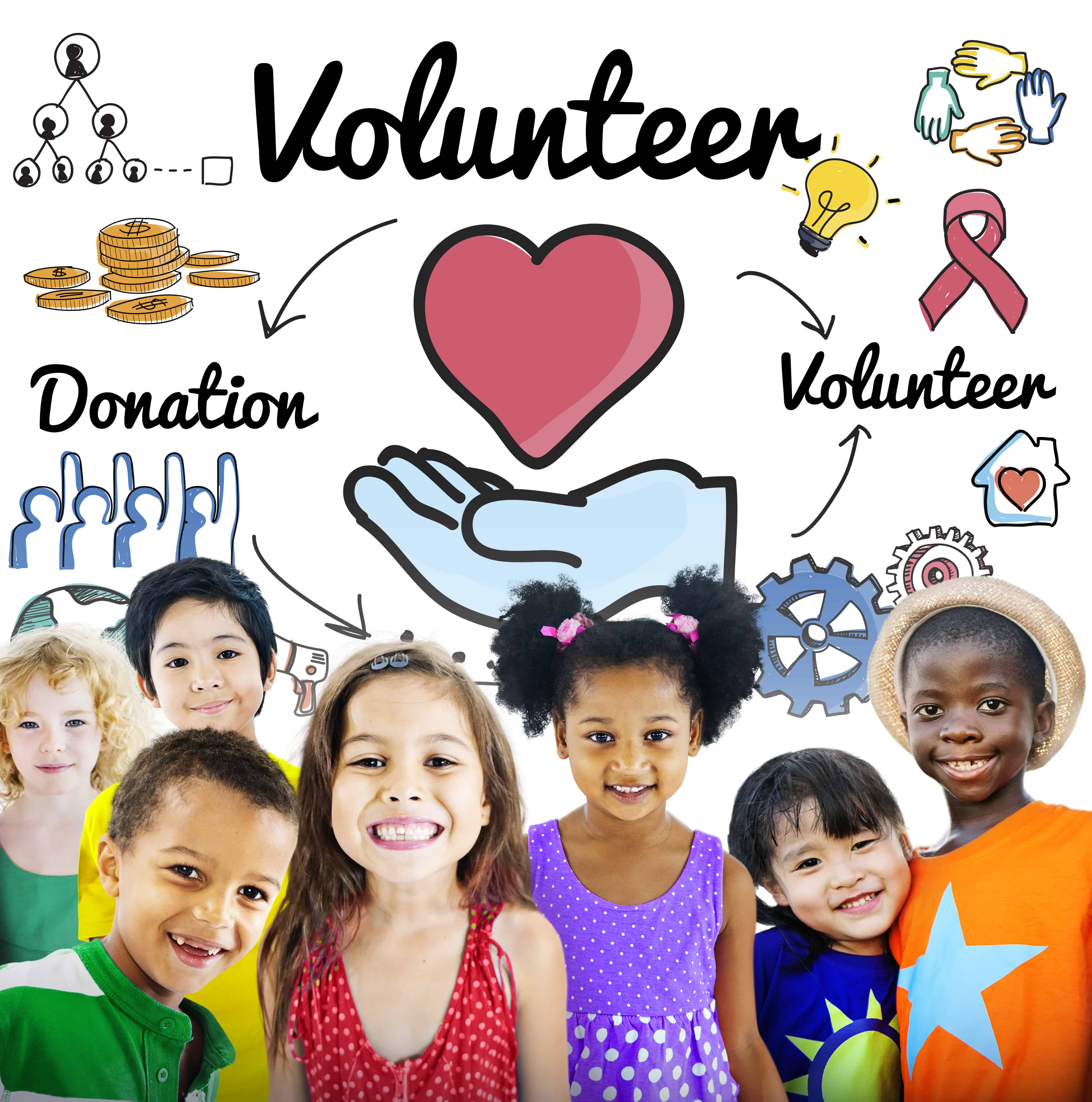 In the spirit of the holidays, here are a number of ways for kids to get involved and give back to others from giving money to giving time and energy.
