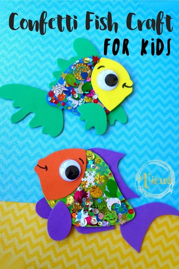 fish craft pin