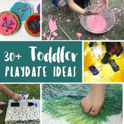 toddler playdate ideas square collage
