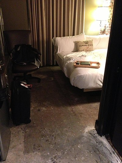 What's Up With Room 322 at Hotel ZaZa?