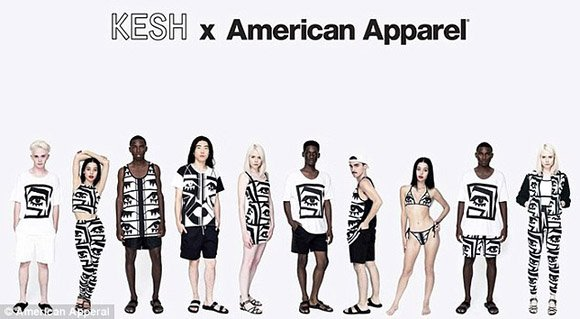 Being hip apparently now means being drenched in Illuminati symbolism. Here's an entire American Apparel collection solely dedicated to the all-seeing eye.
