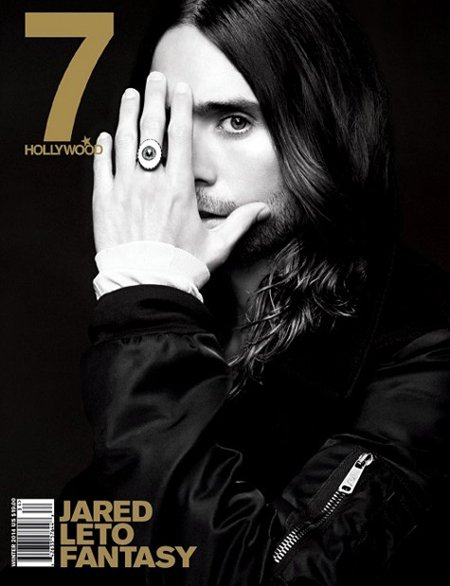 Jared on the cover of Hollywood magazine. He wears an All-Seeing Eye ring so you fully understand why he is always hiding one eye.