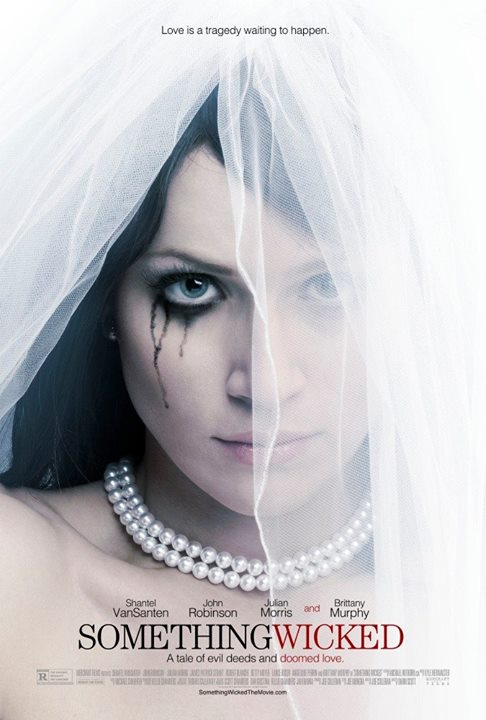 "This is the poster of the upcoming movie ""Something Wicked"", which is the last movie Brittany Murphy appeared in. As stated in previous articles, Brittany Murphy lost her life at in very mysterious circumstances at the young age of 32. The one eye sign on this poster is almost a ""wink"" to the occult elite sacrifice that occurred there."