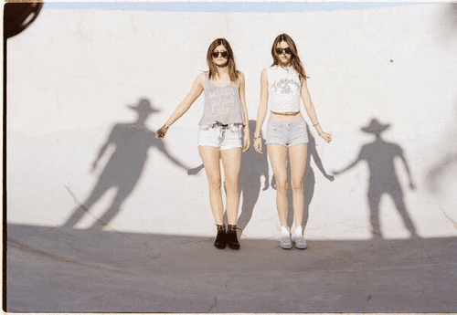 Although displaying no discernable talent applicable to the entertainment industry, Kendally and Kylie Jenner are being pushed into the spotlight. Why? This pic pretty much explains it all. They're holding the hand of invisible shadow men. Who do you think these shadow men refer to?