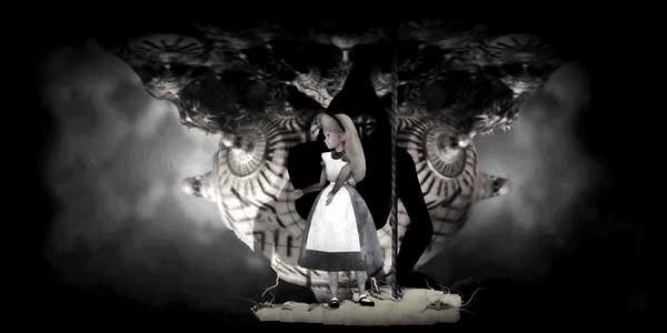 Then Alice in Wonderland appears. This fairytale is used by MK handlers to program slaves as they are encouraged to