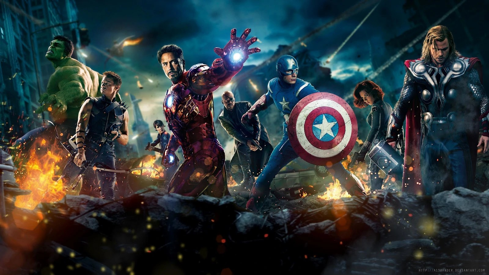 Image - Avengers-2012-full-hd-wallpaper-1920x1080-movie-1080p.jpg   Disney Wiki   FANDOM powered ...
