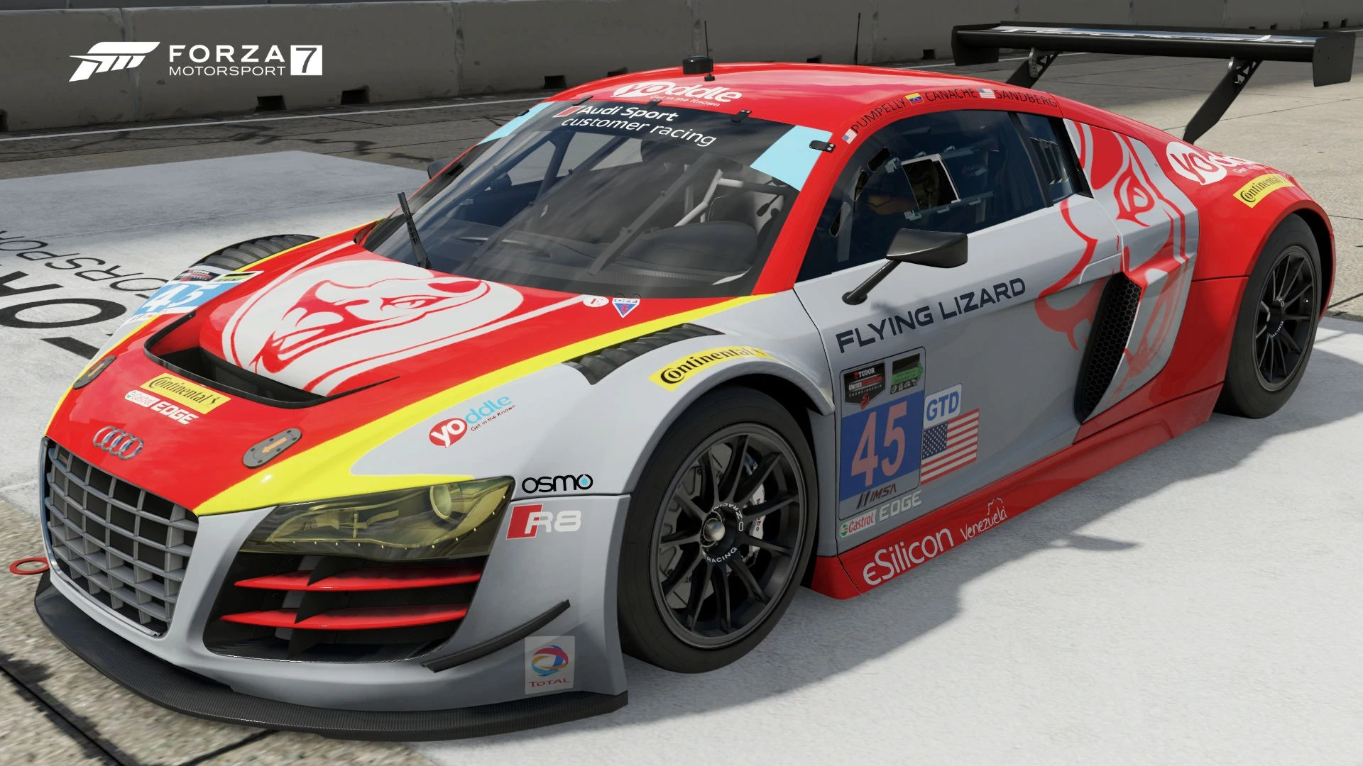 Audi #45 Flying Lizard Motorsports R8 LMS ultra | Forza Motorsport Wiki | FANDOM powered by Wikia