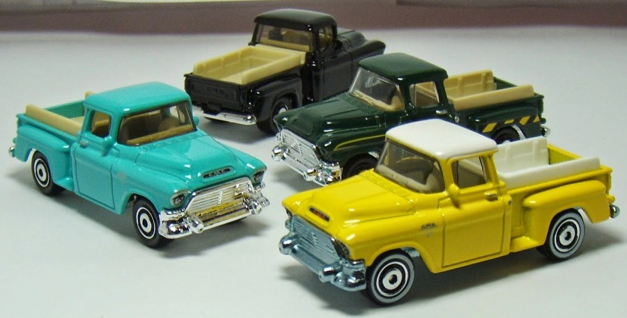1957 GMC Stepside   Matchbox Cars Wiki   FANDOM powered by Wikia 1957 GMC Stepside